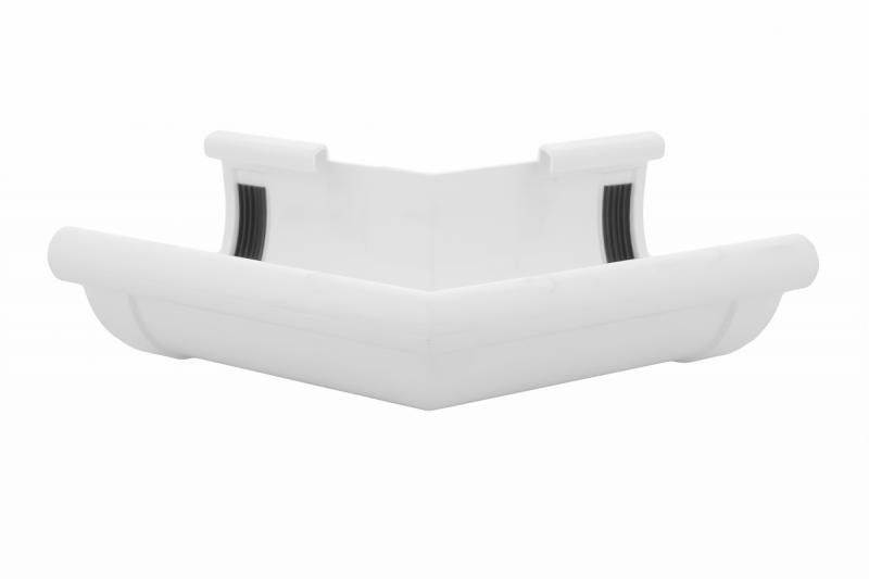 PROFiL – пластиковые водосточные системы - Угол внешний 90 белый 135°