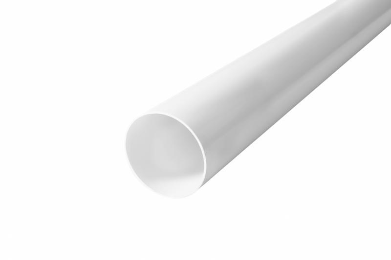 PROFiL – пластиковые водосточные системы - Труба 75 белая 4 м.