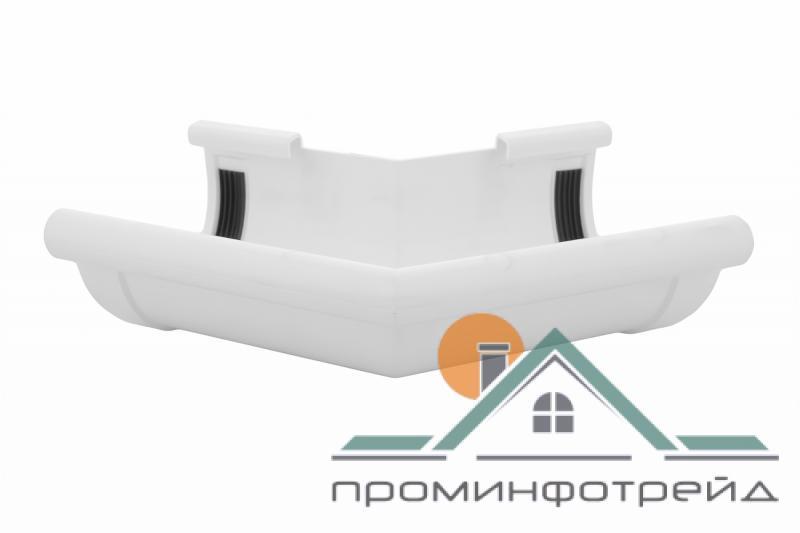Фото Водосточные системы PROFiL – пластиковые водосточные системы - Угол внешний 130 белый 135°