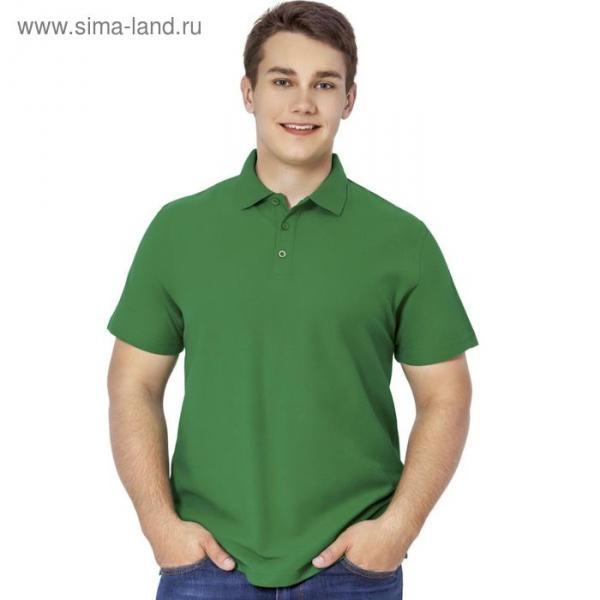 Рубашка-поло мужская StanPremier, размер 44, цвет зелёный 185 г/м
