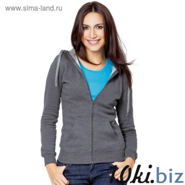 Толстовка женская StanStyle, размер 42, цвет тёмный меланж-серый меланж 280 г/м купить в Лиде - Толстовки, пайты и регланы женские