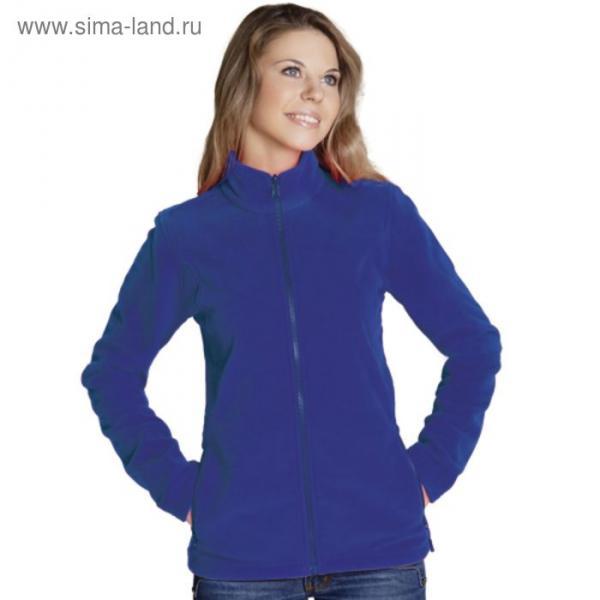 Толстовка женская StanSoft, размер 54, цвет синий 200 г/м