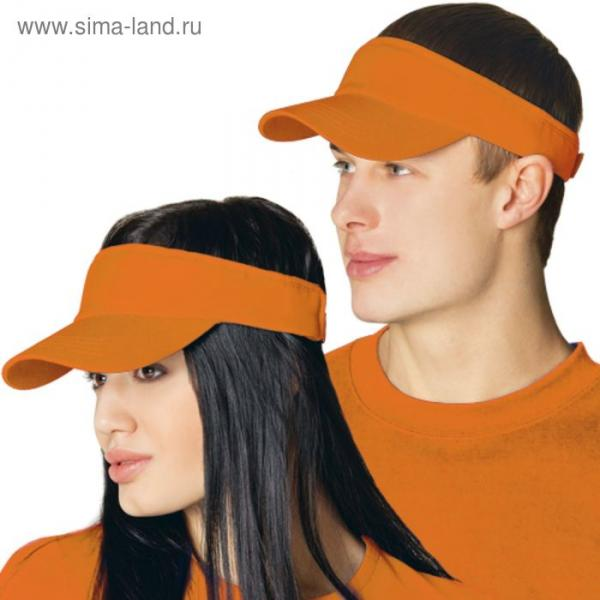 Козырек StanFresh, one size, цвет оранжевый 150 г/м