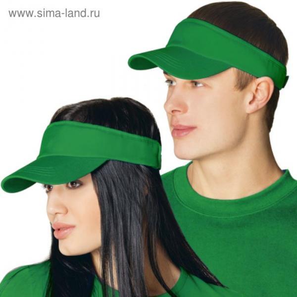 Козырек StanFresh, one size, цвет зелёный 150 г/м