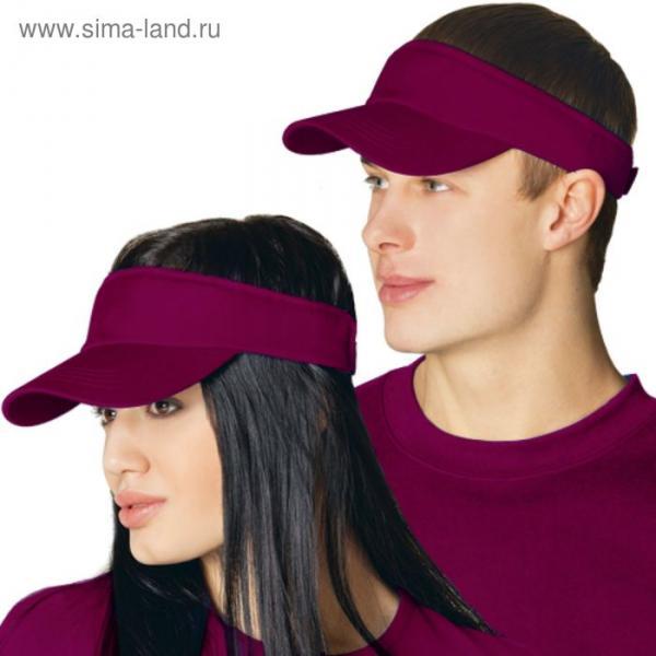 Козырек StanFresh, one size, цвет винный 150 г/м