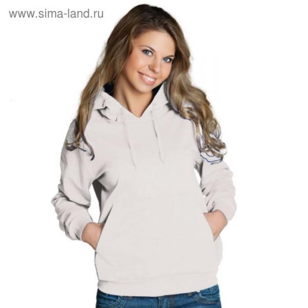 Толстовка женская StanFreedom, размер 46, цвет белый 280 г/м
