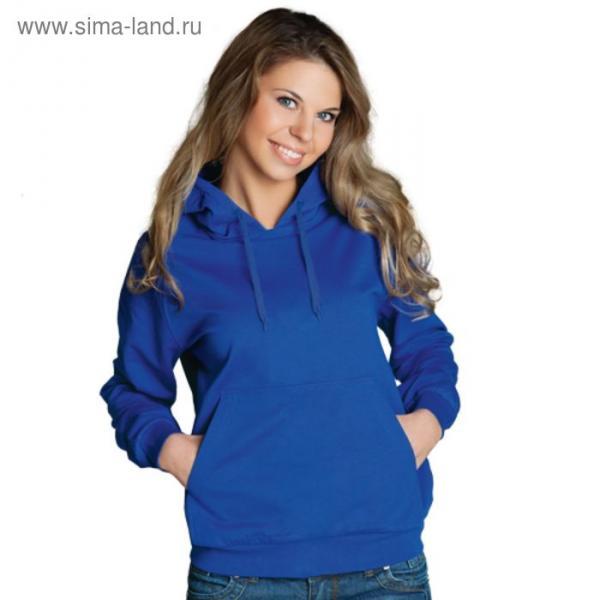 Толстовка женская StanFreedom, размер 48, цвет синий 280 г/м