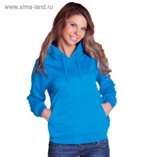 Толстовка женская StanFreedom, размер 46, цвет лазурный 280 г/м