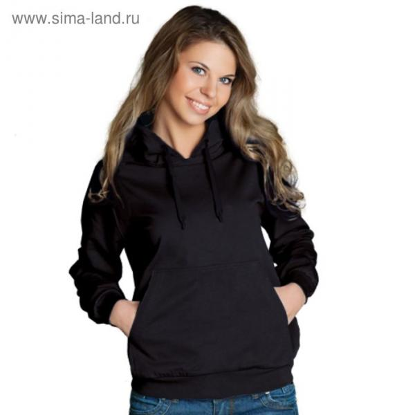 Толстовка женская StanFreedom, размер 50, цвет чёрный 280 г/м