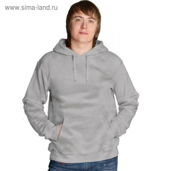 Толстовка мужская StanFreedom, размер 56, цвет серый меланж 280 г/м
