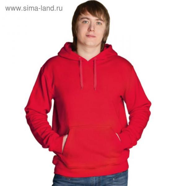 Толстовка мужская StanFreedom, размер 50, цвет красный 280 г/м