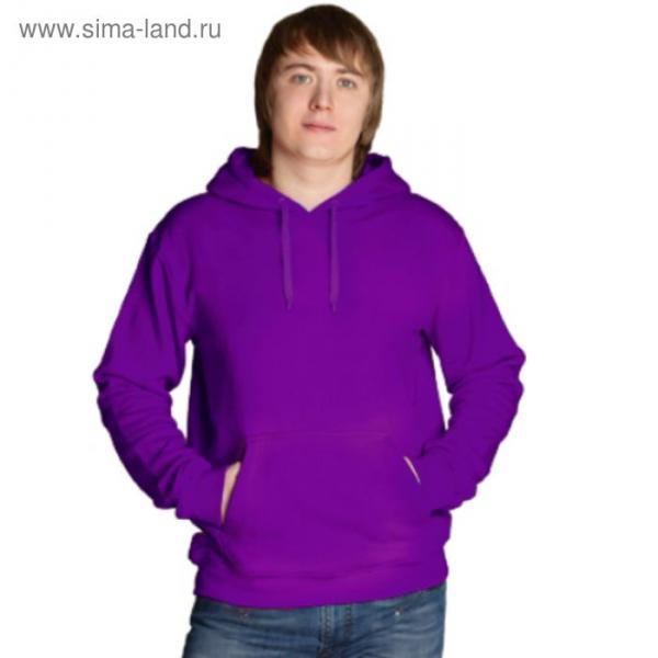 Толстовка мужская StanFreedom, размер 52, цвет фиолетовый 280 г/м