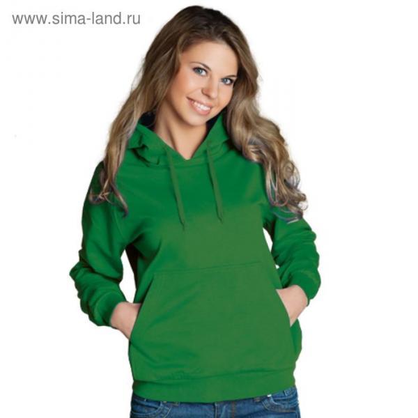 Толстовка женская StanFreedom, размер 52, цвет зелёный 280 г/м