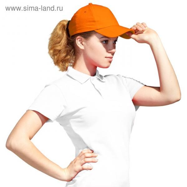 Бейсболка StanLight, one size, цвет оранжевый 130 г/м