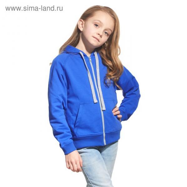 Толстовка детская StanCoolJunior, рост 128 см, цвет синий