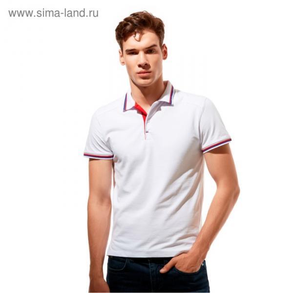 Рубашка-поло StanSalute, размер 48, цвет белый