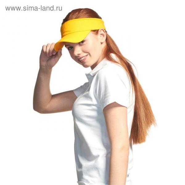 Козырёк StanVisor, one size, цвет жёлтый