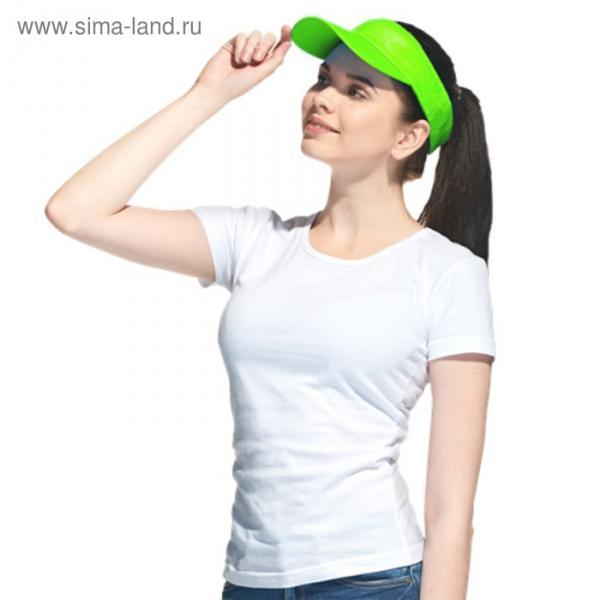 Козырёк StanVisor, one size, цвет зелёный