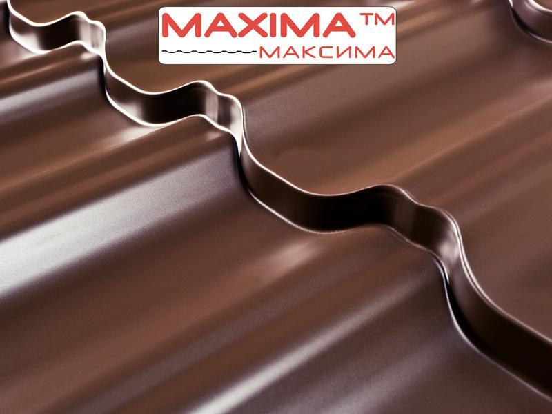 Металлочерепица Максима/Эра PE (Полиестер), 0,45 мм, Словакия (Гарантия 10лет)