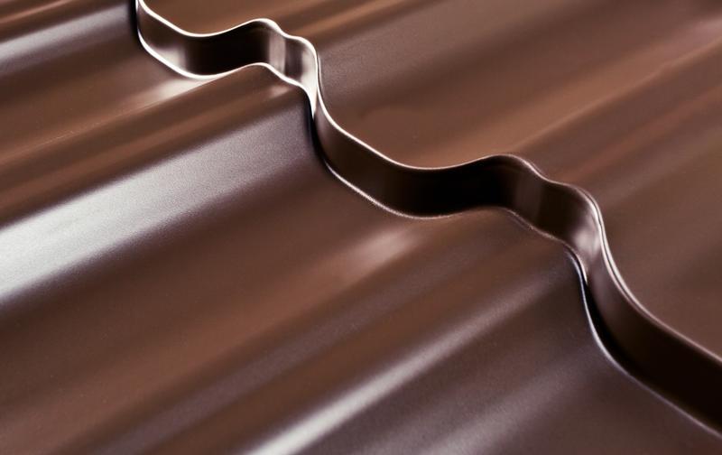 Металлочерепица Максима/Эра PE (Полиестер), 0,50 мм, ArcelorMittal Zn 275 (Гарантия от 10 лет)