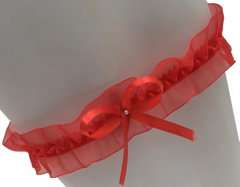 Подвязка на ногу PODWIĄZKA MAR-KO EVA KOKARDKA_conf Підв`язка Аксессуары для женщин Польша