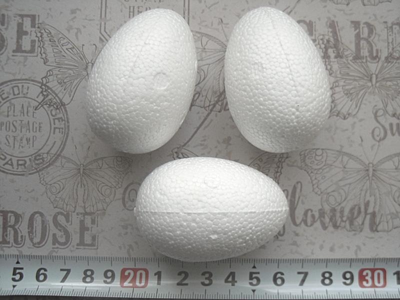 Фото Пенопластовые фигуры Яйцо  пенопластовое  6 см.