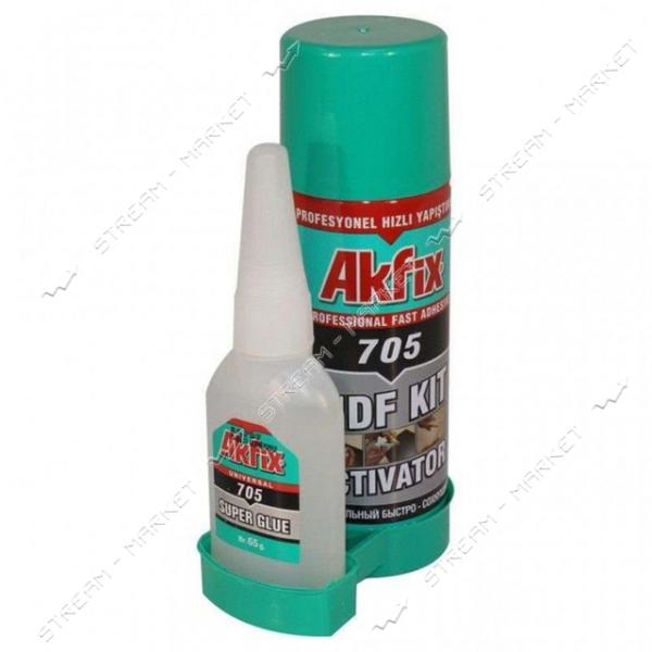Набор для экспресс склеивания AKFIX '705' 100 25гр
