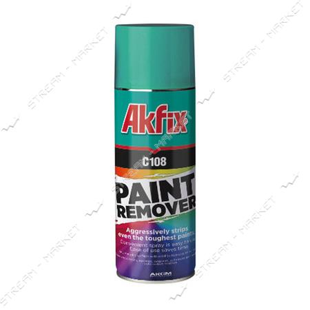 Akfix 'С108' Paint Remover Спрей для удаления краски 400мл