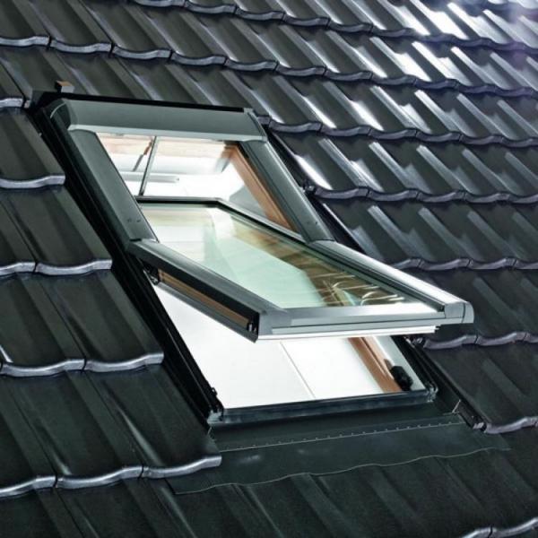 Мансардное окно Designo R69P H WD RotoTronic E 07/09