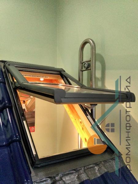 Фото Мансардные окна Мансардное окно Designo R75 H 07/09
