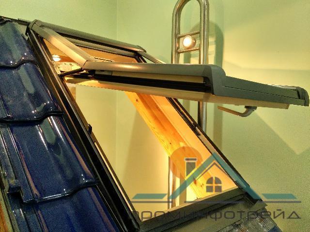 Фото Мансардные окна Мансардное окно Designo R75 H WD 07/11