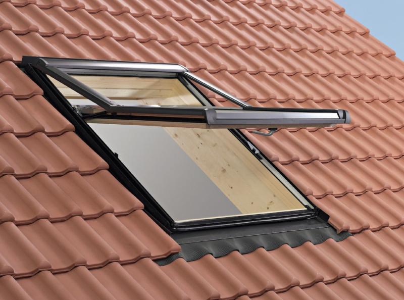 Мансардное окно Designo WDF R79 H N WD AL 09/14