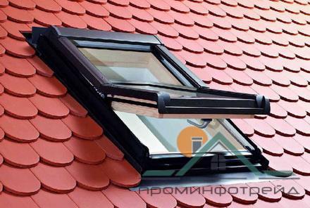 Фото Мансардные окна Мансардное окно Designo R45 H RotoTronic EF 09/14