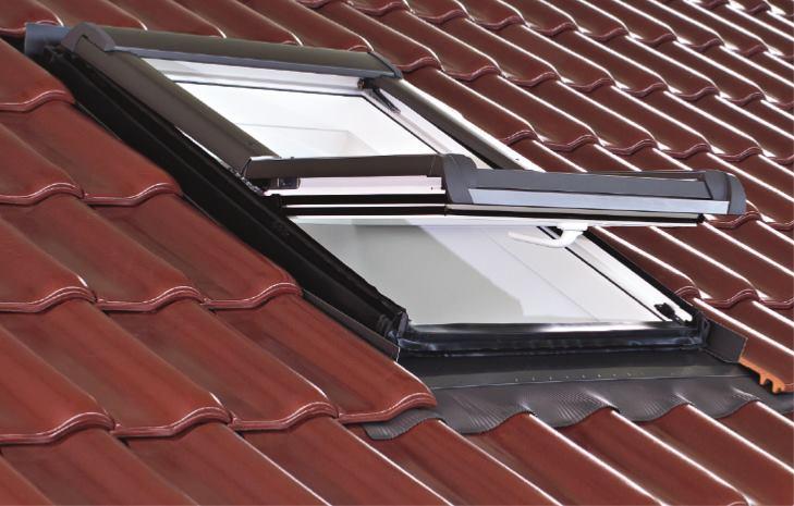 Мансардное окно Designo R45 H WD RotoTronic E 07/11