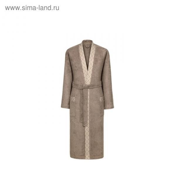"Халат женский ""Милан"", размер 48, цвет коричневый"