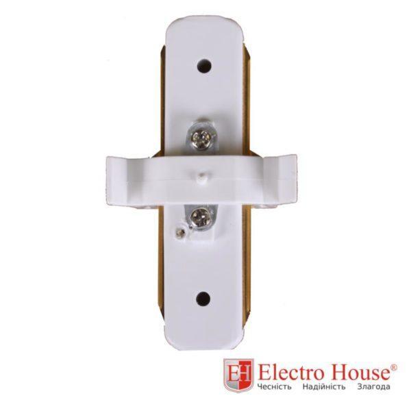 Коннектор прямой белый EH-TC-0001