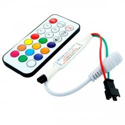 Контроллер SPI OEM Dream Color IR 21 кнопка max 500pcs
