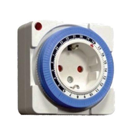 Таймер Lemanso механический квадратный маленький LM671