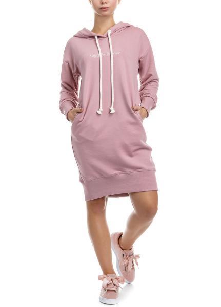Худи Hungry power hoodie платье толстовка миди с капюшоном