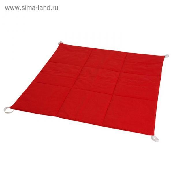 Игровой коврик для вигвама, хлопок,  красный