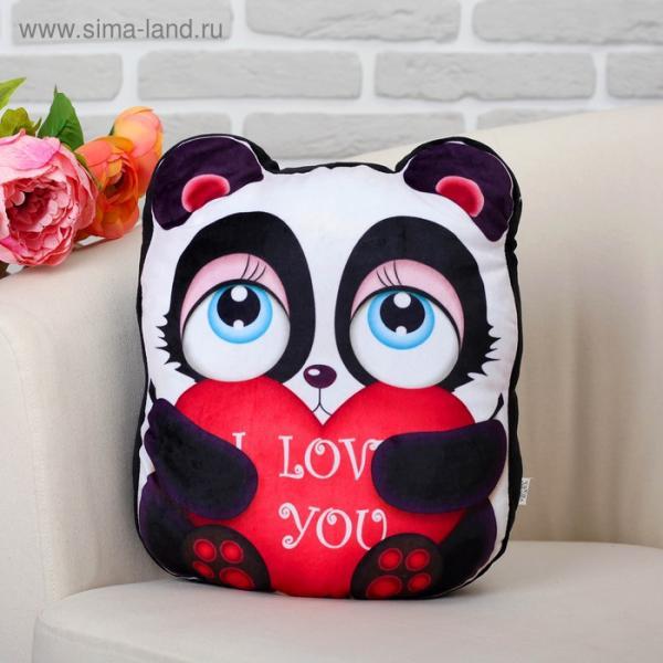 """Мягкая игрушка """"Панда"""" с сердцем"""