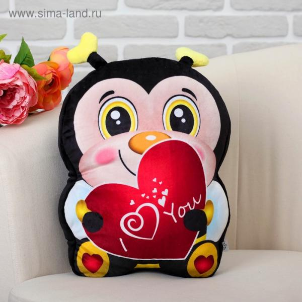 """Мягкая игрушка """"Пчёлка"""" с сердцем"""