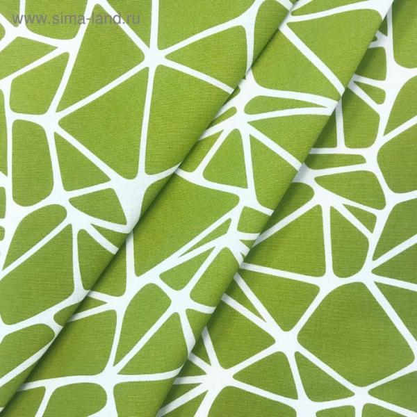 Ткань в рулоне «Тропикана», ширина 280 см, оливковый