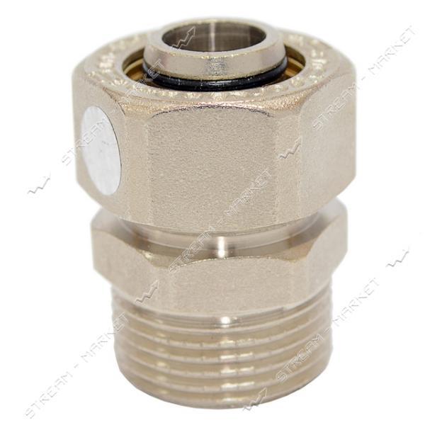 Муфта для металлопластиковых труб 20х3/4'Н SD