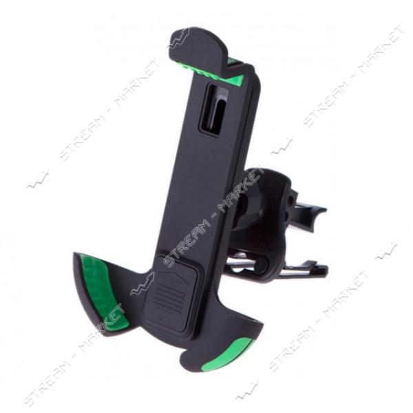 Держатель мобильного телефона PULSO UH-2050BK/GN 116-167мм на дефлектор