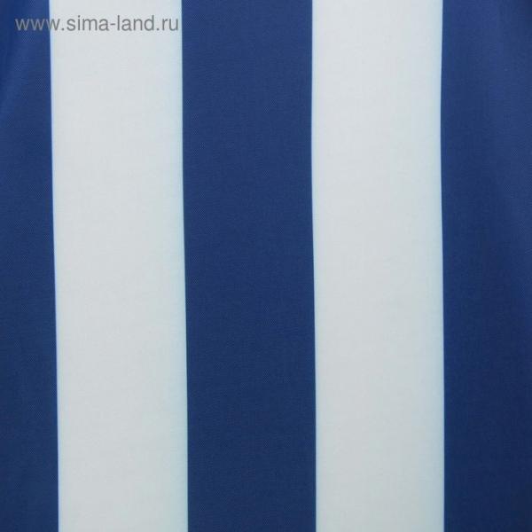 Ткань плащевая ОКСФОРД 210, ПУ 1000, принт полоса (цвет василёк), 95 пог. м.