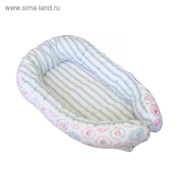 "Гнёздышко для малыша ""Шебби"", размер 55х95 см, поплин"