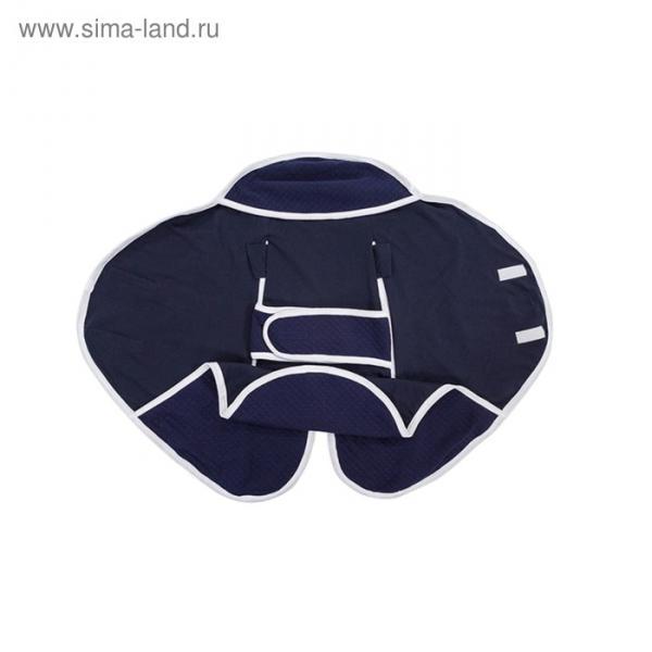 Конверт-одеяло Dolce Blanket, от 0 до 6 месяцев, цвет синий