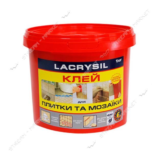 Клей акриловый для мозаики и плитки Lacrysil контактный 1кг