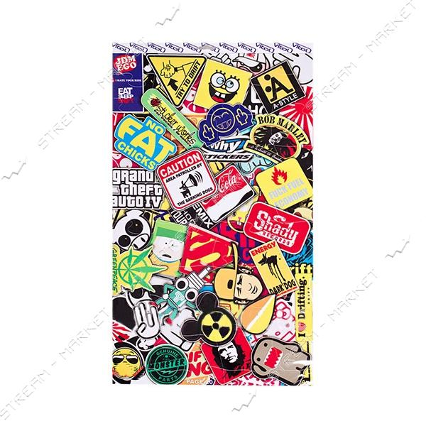 Наклейка P-20 Pazzle Sticker Bomb 300х500мм